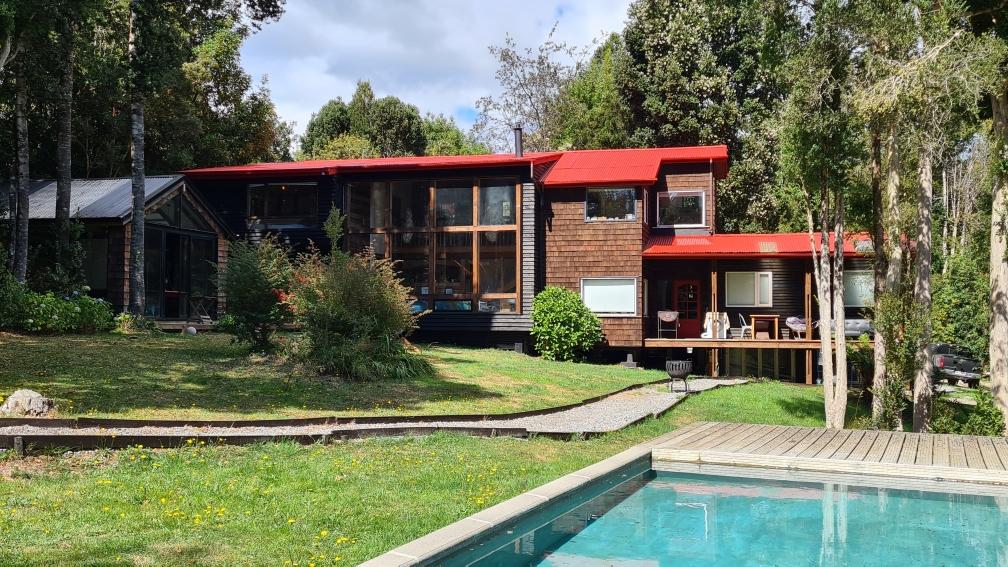 Casa + Cabaña en Condominio El Bosque